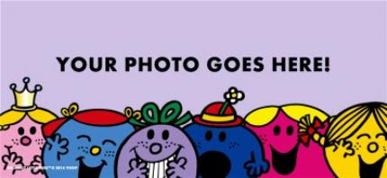 Mugs - Little Miss Purple Photo Upload Mug - Image 4