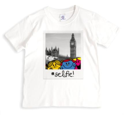 T-Shirts - Little Miss Selfie Personalised T-shirt - Image 1