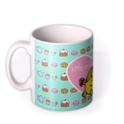 Mugs - Little Miss Sunshine Tea and Cake Mug - Image 1
