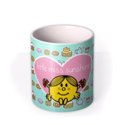 Mugs - Little Miss Sunshine Tea and Cake Mug - Image 3