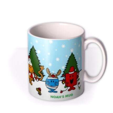 Mugs - Mr Men Christmas Personalised Mug - Image 2