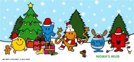 Mugs - Mr Men Christmas Personalised Mug - Image 4