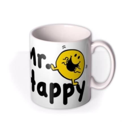 Mugs - Mr Men Mr Happy Photo Upload Mug - Image 2
