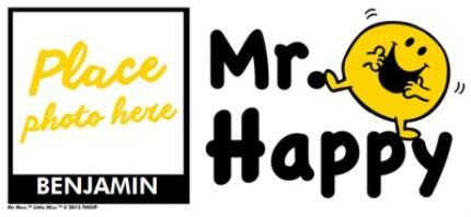 Mugs - Mr Men Mr Happy Photo Upload Mug - Image 4