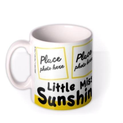 Mugs - Little Miss Sunshine Photo Upload Mug - Image 1