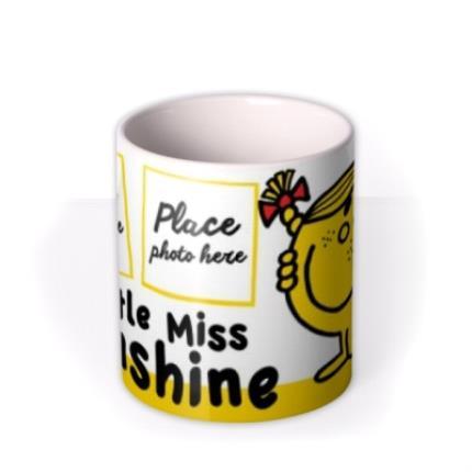 Mugs - Little Miss Sunshine Photo Upload Mug - Image 3