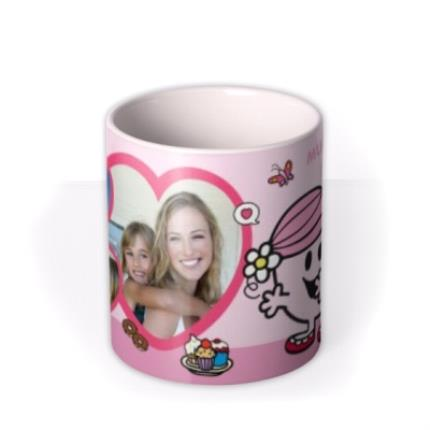 Mugs - Little Miss Hug Mum Photo Upload Mug - Image 3