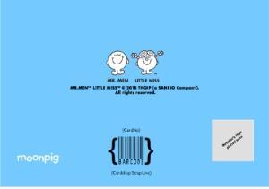 Greeting Cards - Anniversary card - Mr Men - Mr Happy - Little Miss Sunshine - #relationshipgoals - Image 4