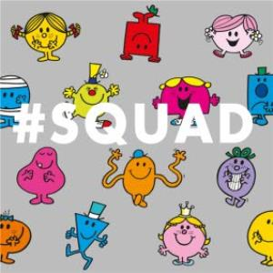 Greeting Cards - Birthday Card - Mr Men - Little Miss - Squad - Image 1