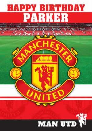 Greeting Cards - Manchester United Birthday Card - Image 1