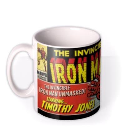 Mugs - Marvel Comics Iron Man Photo Upload Mug - Image 1