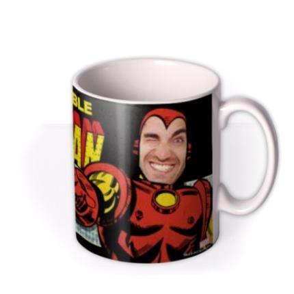 Mugs - Marvel Comics Iron Man Photo Upload Mug - Image 2