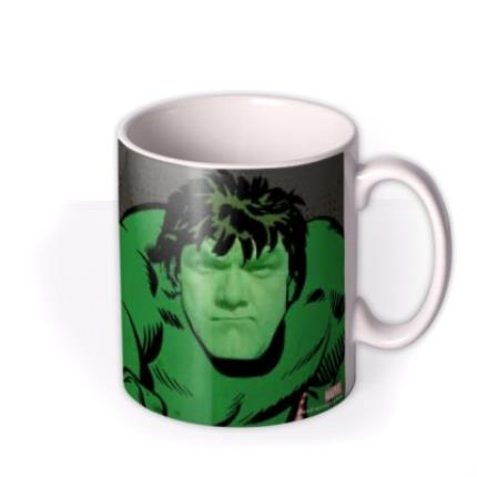 Mugs - Marvel Comics The Hulk Photo Upload Mug - Image 2