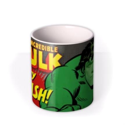 Mugs - Marvel Comics The Hulk Photo Upload Mug - Image 3