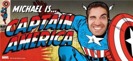 Mugs - Marvel Comics Captain America Photo Upload Mug - Image 4
