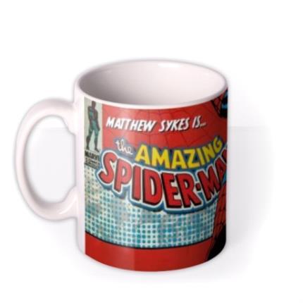 Mugs - Marvel Comics Spiderman Photo Upload Mug - Image 1