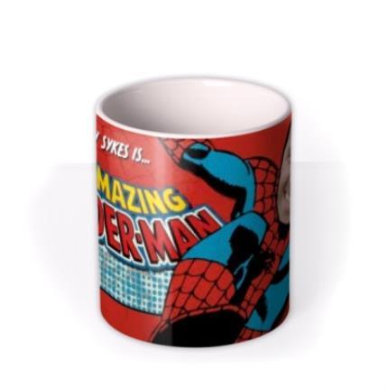 Mugs - Marvel Comics Spiderman Photo Upload Mug - Image 3