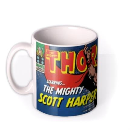 Mugs - Marvel Comics Thor Photo Upload Mug - Image 1