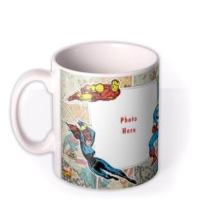 Mugs - Marvel The Avengers Comic Book Photo Upload Mug - Image 1