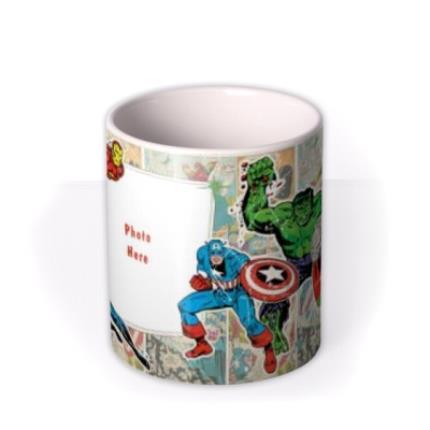 Mugs - Marvel The Avengers Comic Book Photo Upload Mug - Image 3