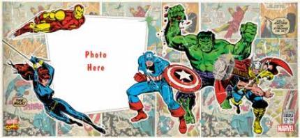 Mugs - Marvel The Avengers Comic Book Photo Upload Mug - Image 4