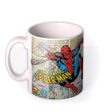 Mugs - Marvel The Amazing Spider Man Photo Upload Mug - Image 1