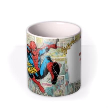 Mugs - Marvel The Amazing Spider Man Photo Upload Mug - Image 3