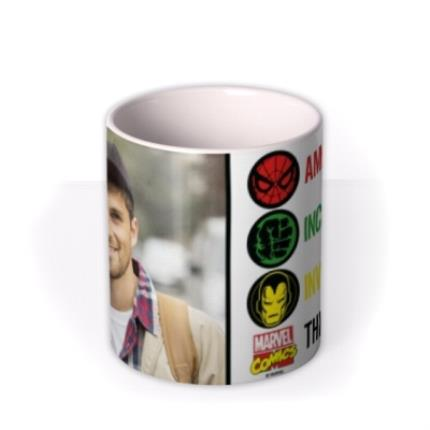 Mugs - Marvel The Avengers This Guy Photo Upload Mug - Image 3