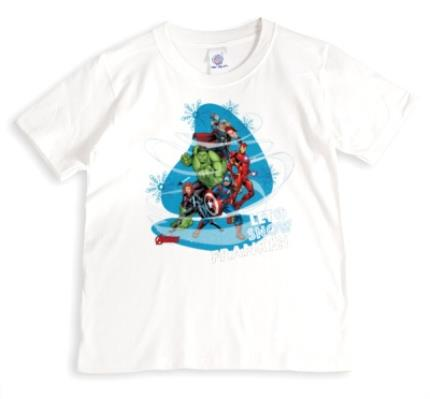 T-Shirts - Marvel The Avengers Let It Snow Custom T-Shirt - Image 1