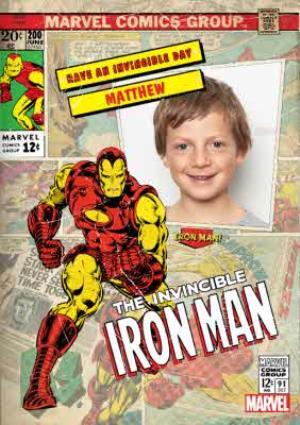 Greeting Cards - Iron Man Birthday Card - Image 1