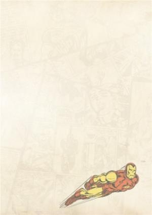 Greeting Cards - Iron Man Birthday Card - Image 3