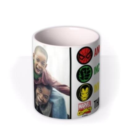 Mugs - Marvel The Avengers Amazing Dad Photo Mug - Image 3
