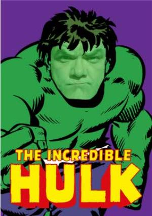 Greeting Cards - Marvel Incredible Hulk Personalised Card - Image 1