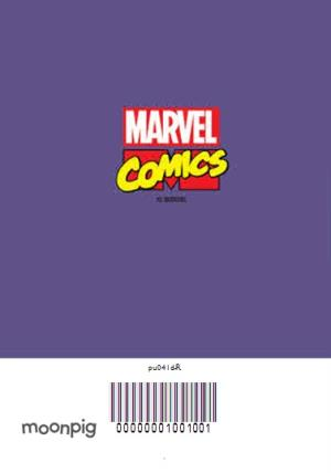 Greeting Cards - Marvel The Avengers Spiderman And The Hulk Face Photo Card - Image 4