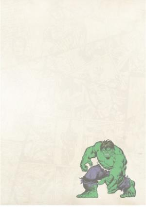 Greeting Cards - Marvel Action Heroes Father's Day Photo Card - Image 3