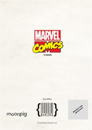 Greeting Cards - Marvel Action Heroes Father's Day Photo Card - Image 4
