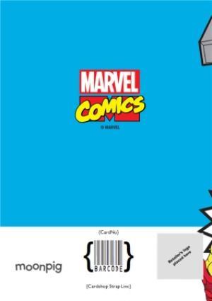 Greeting Cards - Marvel Comics Incredible Birthday photo upload card - Image 4
