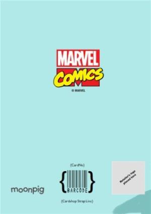 Greeting Cards - Marvel Comics Incredible Hulk and Loki funny birthday card - Image 4