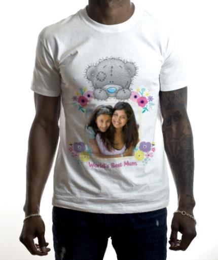 T-Shirts - Tatty Teddy The World's Best Mum Photo T-Shirt - Image 2