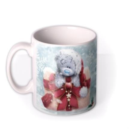 Mugs - Merry Christmas Tatty Teddy Mummy Frosty Mug - Image 1