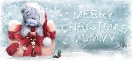 Mugs - Merry Christmas Tatty Teddy Mummy Frosty Mug - Image 4