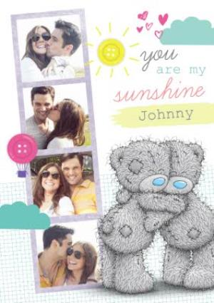Greeting Cards - Me To You Tatty Teddy You Are My Sunshine Photo Card - Image 1