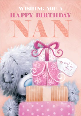 Tatty Teddy Happy Birthday Nan Card Moonpig