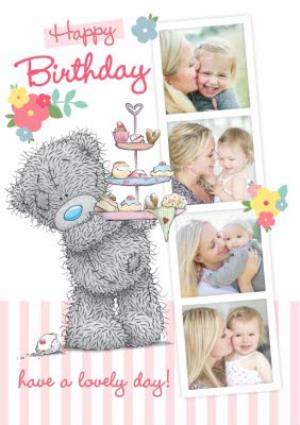 Greeting Cards - Me To You Tatty Teddy Have A Lovely Birthday Photo Card - Image 1