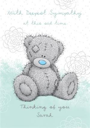 Me to You Tatty Teddy Thinking of You Sympathy Card | Moonpig