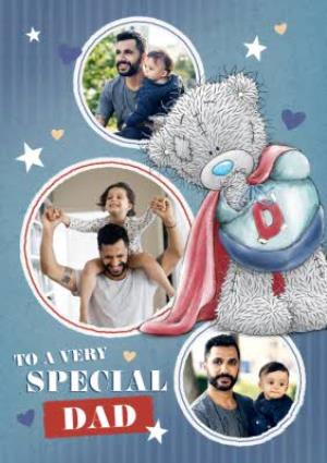 Greeting Cards - Me To You Tatty Teddy To A Very Special Dad Photo Card - Image 1