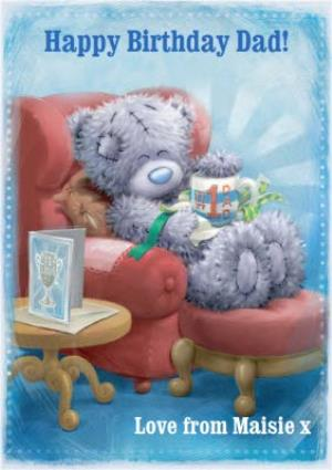 Greeting Cards - Me To You Tatty Teddy Happy Birthday Dad Card - Image 1