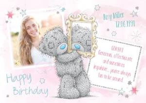 Greeting Cards - Me To You Tatty Teddy Gemini Zodiac Happy Birthday Photo Card - Image 1