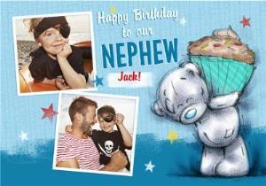 Greeting Cards - Me To You Tatty Teddy Nephew Happy Birthday Multi-Photo Card - Image 1