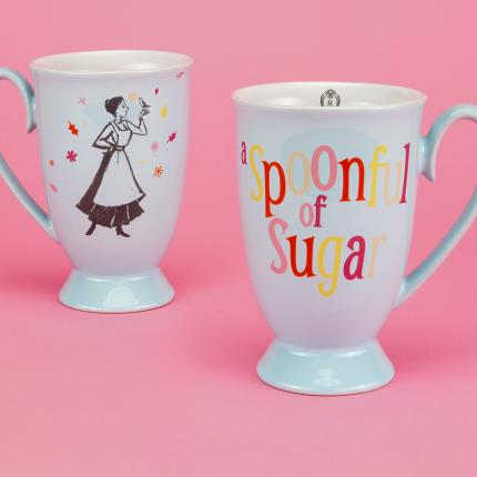 Gadgets & Novelties - Disney Mary Poppins A Spoonful of Sugar Colourful Mug - Image 3